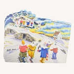 Mummer Placemat and Coaster Set - Elliston Mummers