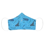 Non-Medical Face Covering -  Adult - Whale Design