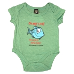 Infant Onesie - Oh My Cod - Heather Ocean