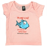 Infant Shirt - Oh My Cod - Heather Light Pink