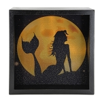 Mermaid Light Box - Black Frame