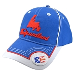 Newfoundland Flag and Map - Two Tone Cap