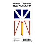 Newfoundland Flag Window Cling
