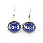 Dangle Earrings - Hard Ticket