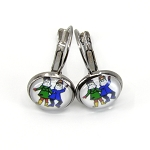 Dangle Earrings - Mummers