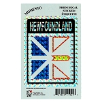Newfoundland Flag Sticker - Prism Design