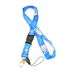 Newfoundland Lanyard - Blue with Flag