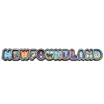 Scenic Newfoundland Magnet - Rounded Letters