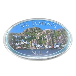 St. John's Battery Magnet - Oval Shape