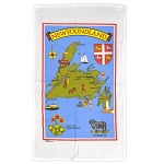 Tea Towel - NL Map & Icons