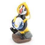 Puffin Fisherman Ornament in a Rain Slicker and Hat