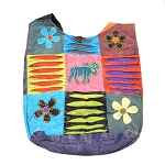 Crazy Cotton Moose and Flowers Tote Bag