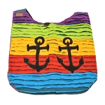 Crazy Cotton Anchor Tote Bag