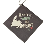 Home is Where the Heart is - Keychain Charm