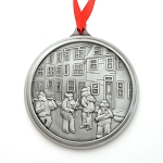 Mummers Parade Pewter Ornament