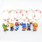 Mummers Wine Glass Charms
