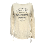 World Famous Newfoundland and Labrador Long Sleeve Shirt - Biscotti