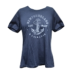 T-Shirt with Anchor & Rope - Navy