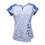 Vertical Anchor T-Shirt - Blue