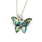 Glacier Pearl Necklace - Butterfly