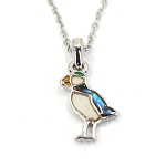 Glacier Pearl Necklace - Puffin