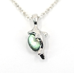 Glacier Pearl Necklace - Dolphin