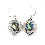 Glacier Pearl Earrings - Galaxy
