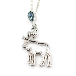 Glacier Pearl Necklace - Moose Spirit