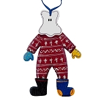 Wooden Mummer Ornament - Longjohns