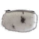 Coin Purse - Natural Seal Skin - Small