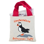 Puffin Candy Tote Bag - Saltwater Taffy 150g