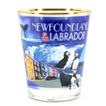 Shot Glass - Newfoundland & Labrador Collage