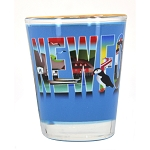 Shot Glass - Newfoundland with Icons