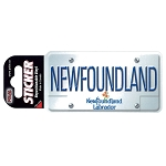 Sticker - Newfoundland License Plate