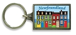 Pewter Keychain  - Row House