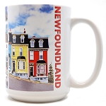Rowhouses of Newfoundland Mug - Tall