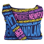 Newfoundland Canvas Tote Bag with Flag