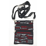 Cross Body Bag with NL Sayings