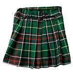 Children's Newfoundland Tartan Kilt - Pleated Elastic Waist