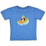 Kids - Puffin in a Dory T-Shirt-Royal