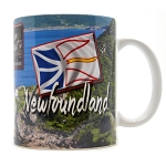Newfoundland Multi View with Flag
