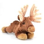 Beanbag Moose Plush
