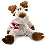 Moose Plush with Canada Scarf