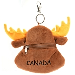Moose Keychain Coin Purse
