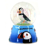 Mini Puffin Snow Globe