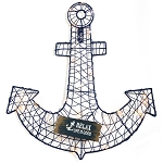 Anchor Light Up Wall Decor