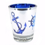 Shot Glass - Anchor & Ships Wheel