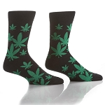 Men's Socks - Happy Leaf - Size 7-12