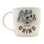 Coffee Grinder Mug - Over-sized