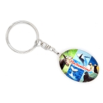 Glass Keychain - Newfoundland Modern Multiview Photos